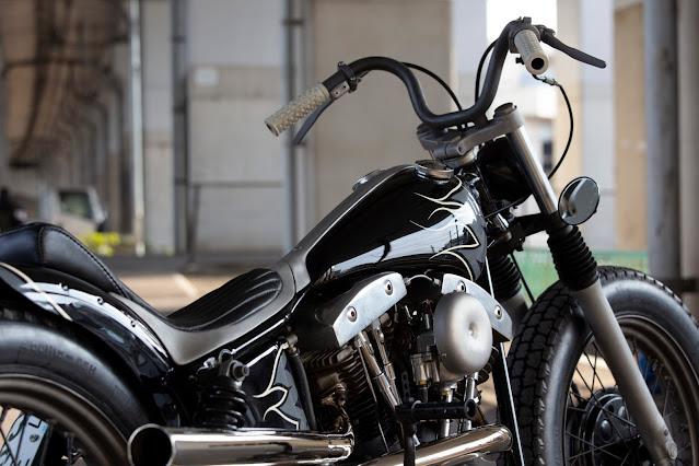 Harley Davidson Shovelhead 1978 By Hide Motorcycle Hell Kustom