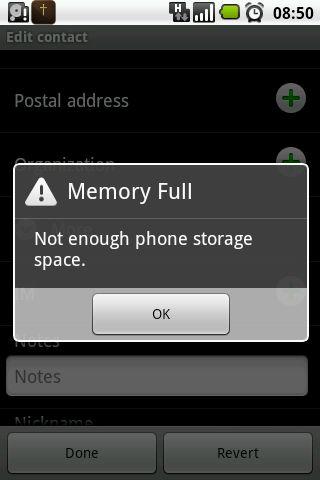 حل مشكلة الذاكرة ممتلئة لهواتف الاندرويد بضغطة زر