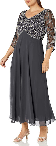 Beauty Grey Mother of The Groom Dresses