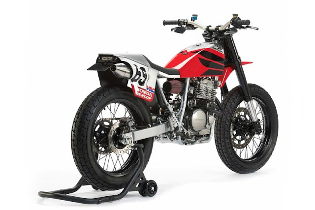 Honda XR650L 2018 By Analog Motorcycles Hell Kustom