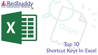 Top 10 Shortcut Keys In Excel - Everyone Should Need To Know