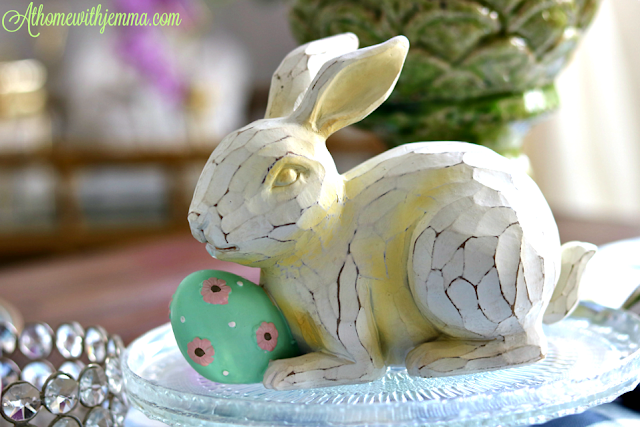 decor, decorating, Easter, theme, Holiday, Spring, athomewithjemma