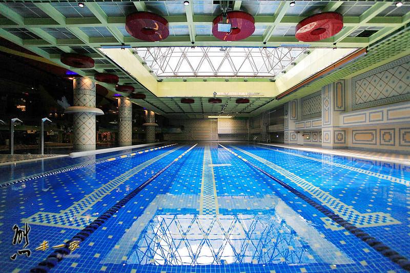 兆笙會館MEGA SPORT健身中心|SPA池|芳療|三溫暖泳池健身房