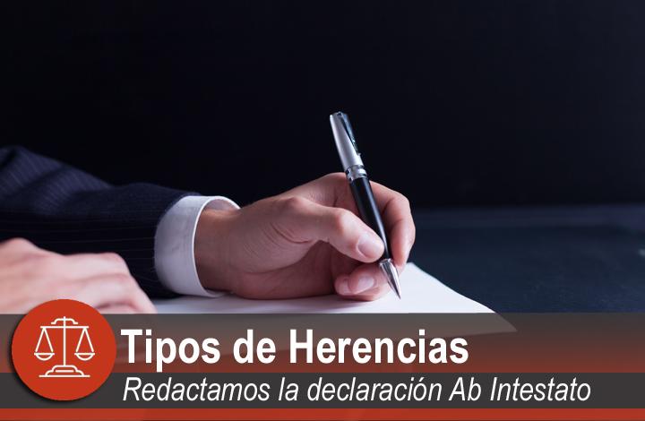 Tipos de herencias en Santander