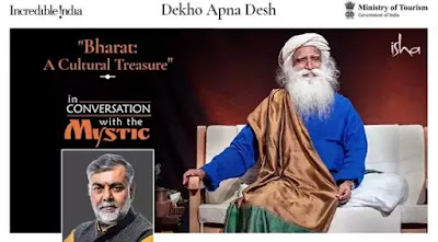 Ministry of Tourism organises 34th webinar titled Bharat: A Cultural Treasure under the Dekho Apna Desh series: Highlights with Details