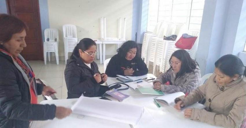 UGEL Santiago de Chuco fortalece el juego en los niños a docentes de inicial