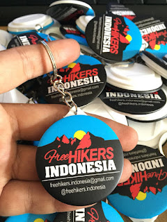Bikin Gantungan Kunci Murah - 1700/pcs - Free Hikers Indonesia