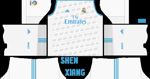 816d6fad3 ... Dream League Soccer Kuchalana. Real Madrid 2018 Kits Dlsfts