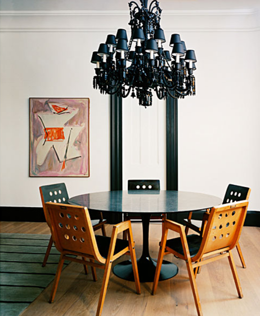 30 Incredible Eclectic Dining Designs: Eclectic Naturals In The Dining Room