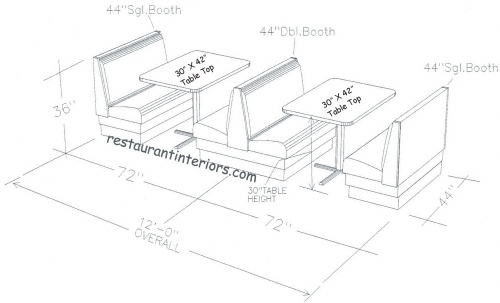 Booth Zombie Pic Restaurant Booth Tables