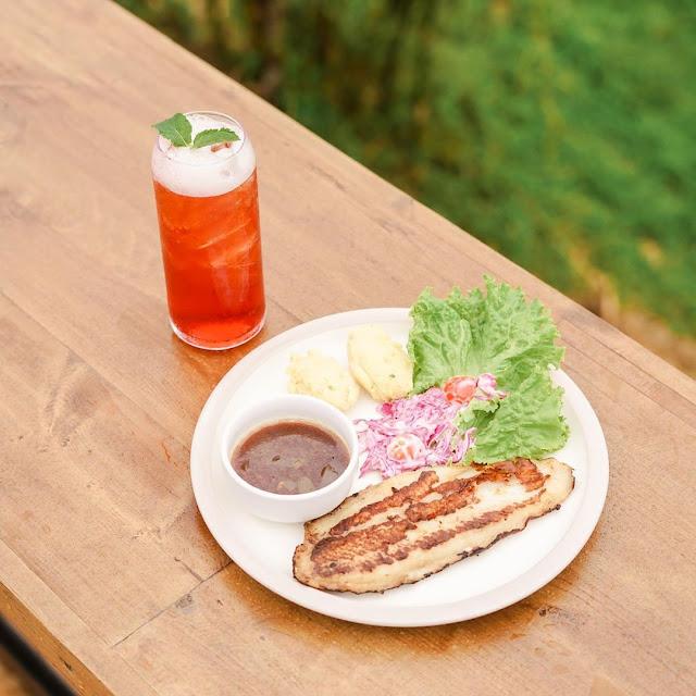 Menu di Taman Langit Cafe Purwokerto