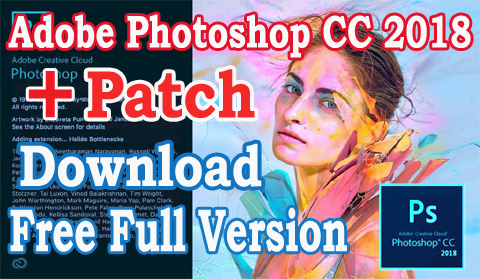 Adobe photoshop cc 2018 Download