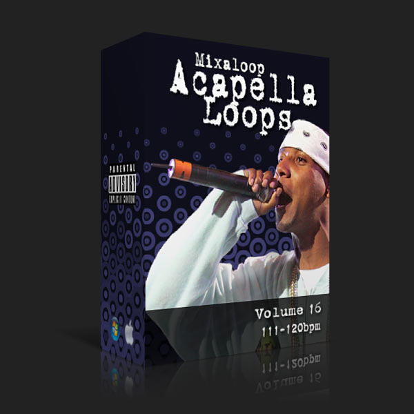 Mixaloop Acapella Loop Pack - Volume 16 (111-120BPM) | DJ MHYKE