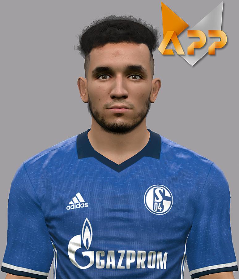 PES 2017  Nabil Bentaleb (Schalke) Face by Litos Facemaker