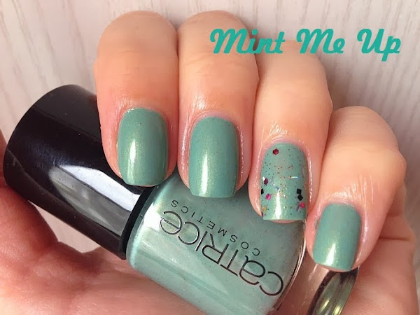 CATRICE - MINT ME UP + GLITTER