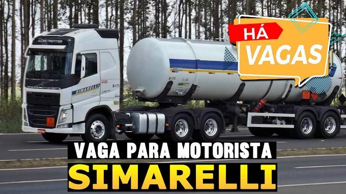 Transportadora Simarelli abre vagas para motorista Rodotrem