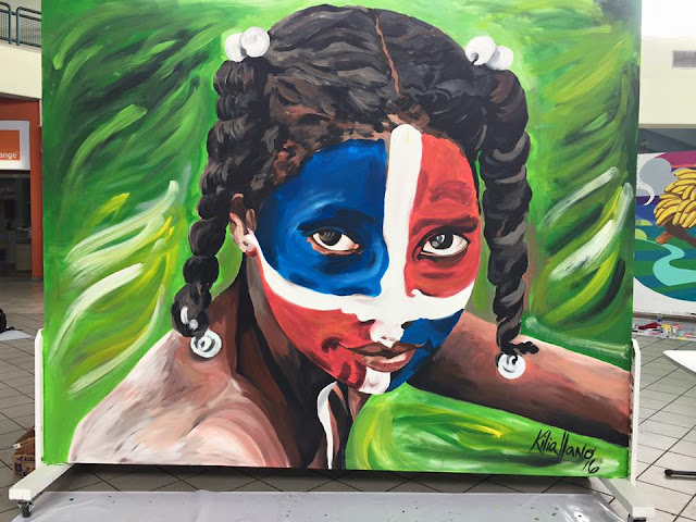 Kilia Llano. Mural. 2016