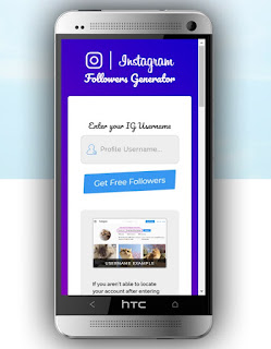 Free Instagram Followers Step 1