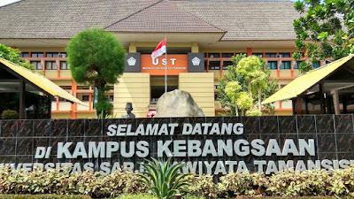 UST JOGJA – Daftar Fakultas dan Program Studi Universitas Sarjanawiyata Tamansiswa