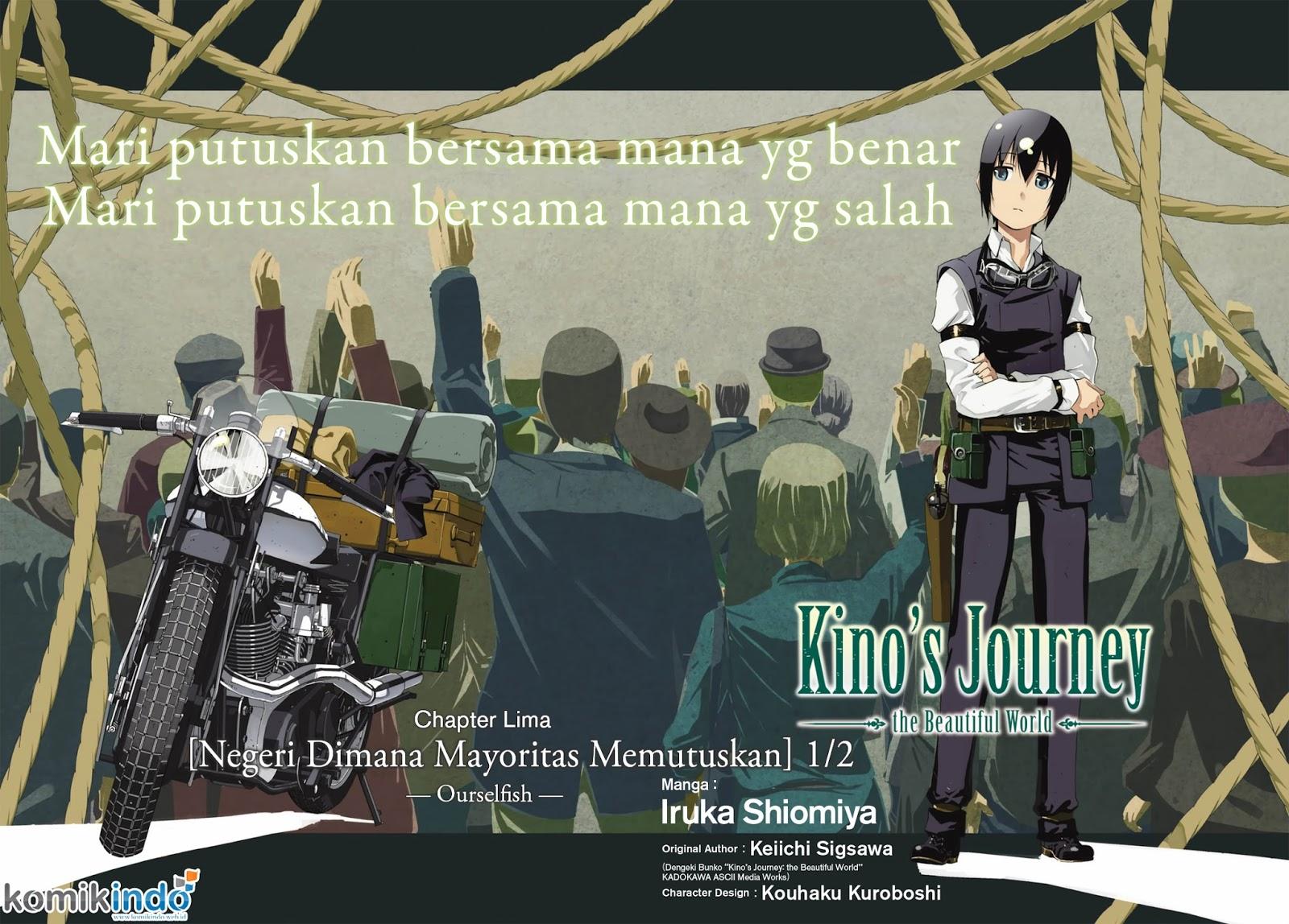 Baca Manga Kino no Tabi -The Beautiful World- (Shiomiya) Chapter 5 Bahasa Indonesia