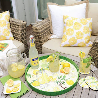 Lemonade Serving Tray