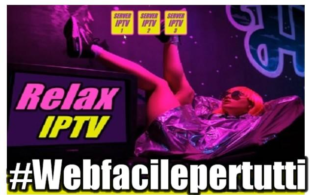 Relax IPTV V3 - Liste IPTV auto-aggiornanti gratis su Android e Chromecast