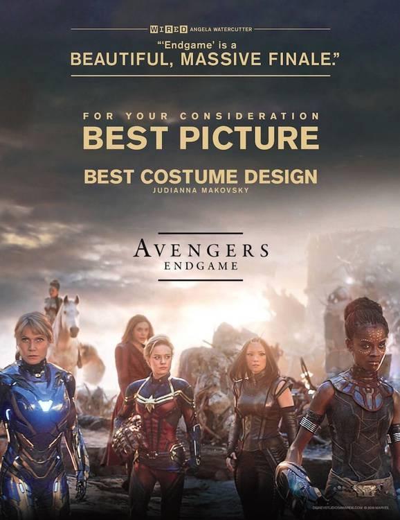 Cartaz Vingadores Ultimato - Melhor Filme
