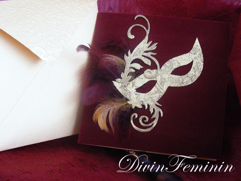 Divinfeminin By Nataliamarcu Velvet Wedding Invitations Venetian
