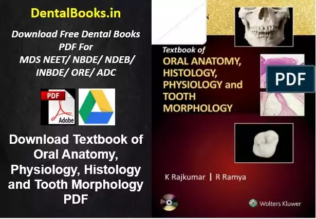 Download Textbook of Oral Anatomy, Physiology, Histology and Tooth Morphology PDF