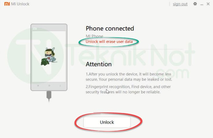 Xiaomi Bootloader Kilidi Açma