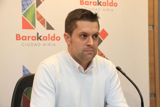 El concejal de Hacienda, Danel Sola, del PNV