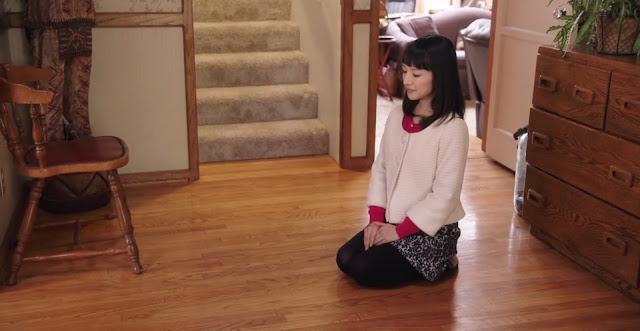 konmari marie kondo method ritual