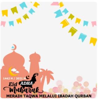 20 Twibbon Hari Raya Idhul Adha 2021 Ucapkan Hari Spesial Dengan Twibbon Keren