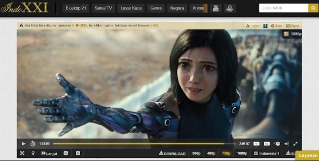 Daftar Situs Nonton Film Streaming Gratis Terbaik 2