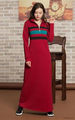 Vestidos Rojos con Negro