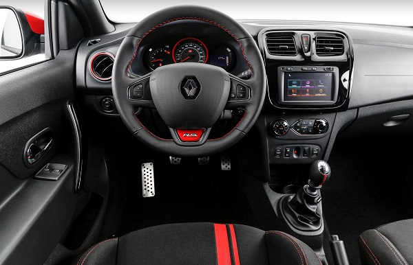 Interior Renault Sandero RS Racing Spirit