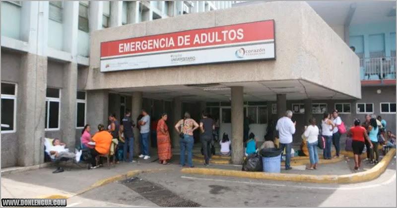 Cuatro pisos del Hospital de Maracaibo tiene contagios de Covid