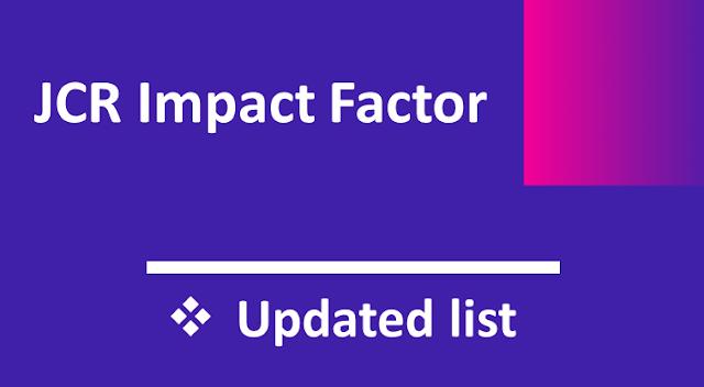 Journal Impact Factor List