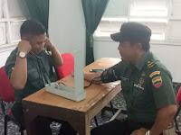 Anggota Koramil 01/SU laksanakan Rikes Berkala Di RST P.Siantar