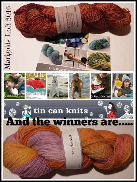 marigolds' loft sock-along 2016