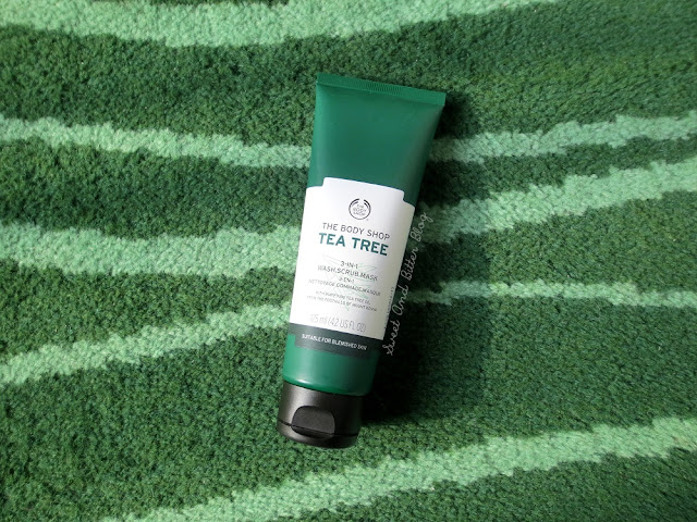 The Body Shop Tea Tree 3-In-1 Mask Scrub Mask Review