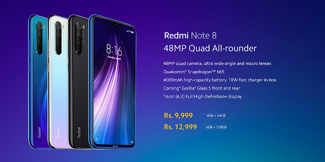 Redmi Note 8 - Full Specifications