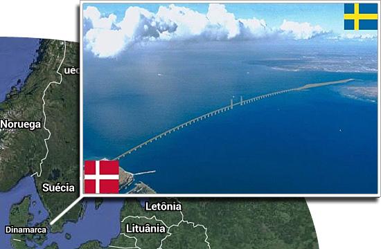 Fronteiras pelo mundo - Dinamarca e Suécia