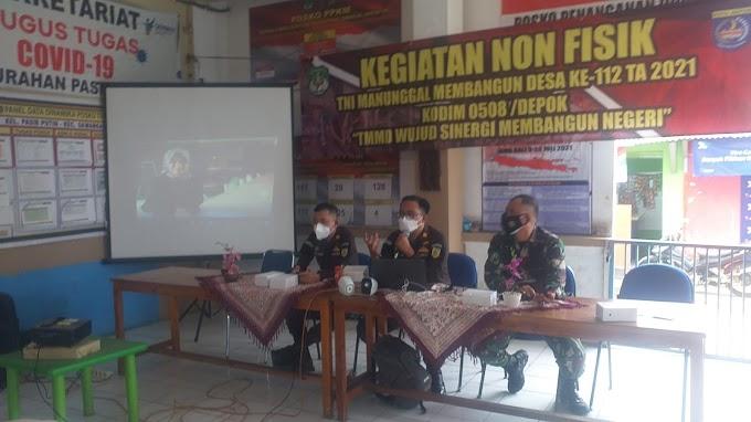 TMMD Gandeng Kejari Depok Sosialisasikan Pencegahan KDRT