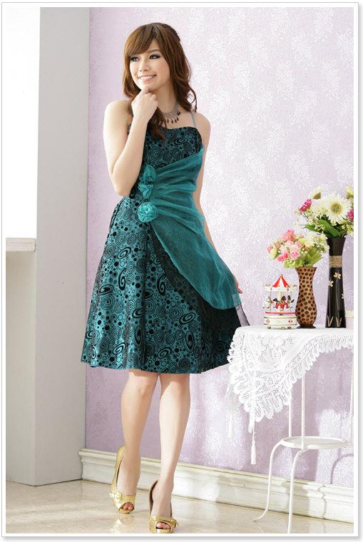 Fashionpics2013: Wholesale Fashion Dress k1192 Green8 2013