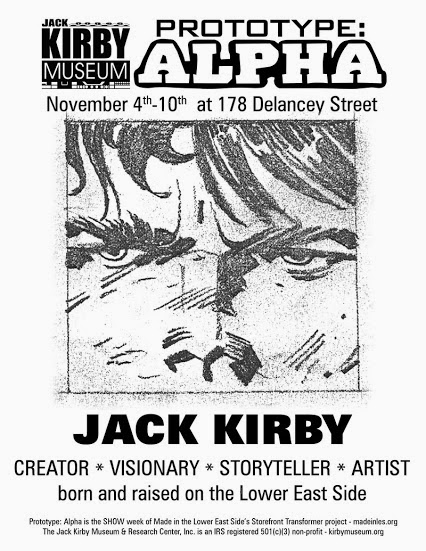 The Comic Pusher: Opening Night at the Jack Kirby Pop-Up