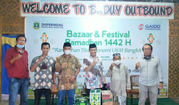 Bazar dan Festival Ramadhan, Gaido Foundation Gelar Diskusi bersama PWI dan SMSI Banten