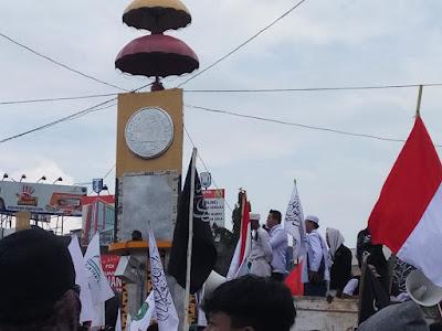 Aksi Bela Muslim Uyghur, Ribuan Massa Lintas Ormas di Lampung Tuntut Pemerintah RI Nyatakan Sikap Tegas
