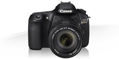 Canon EOS 60Da DSLRフルドライバーをダウンロード