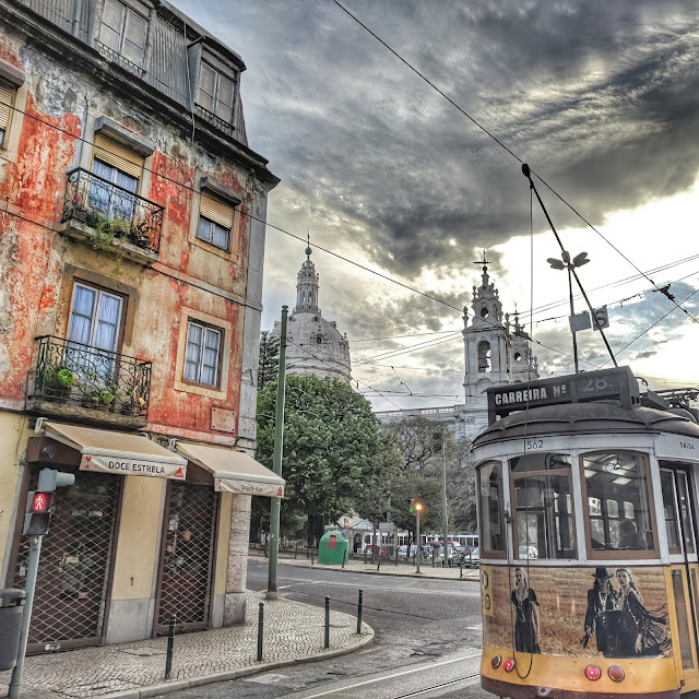 Beautiful Lisbon and the famed Tram 28, photo credit: Lindsey Viscomi